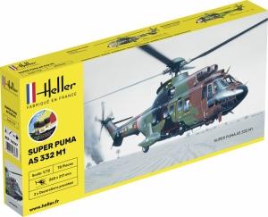 Heller 56367 Starter Set - Super Puma AS332 M1 - 1:72
