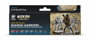 Vallejo 80253 Zestaw Wizkids Premium 8 farb - Shadow warriors