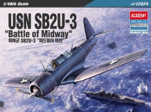 USN SB2U-3 Vindicator Battle of Midway, 1:48