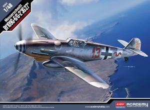 Academy 12321 Messerschmitt Bf109G-6/G-2 JG 27, 1:72