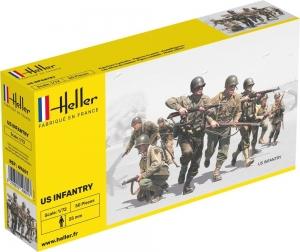 Heller 49601 Figurki - Piechota USA - 1:72