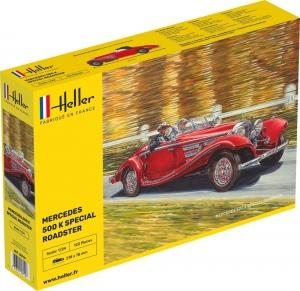 Heller 80710 Mercedes-Benz 500 K Special Roadster - 1:24