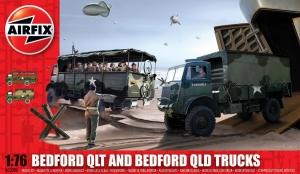 Airfix A03306 Bedford QLD/QLT Trucks - 1:76