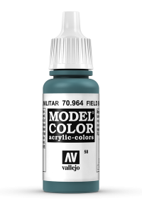 Vallejo 70964 Model Color 70964 58 Field Blue