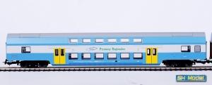 Wagon osobowy piętrowy 2 kl B16mnopux 50 51 26-08 065-2 PKP Przewozy Regionalne