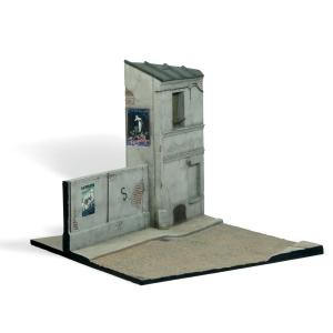 Vallejo SC108 Diorama Fragment francuskiego budynku 1:35