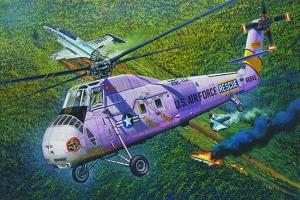 Trumpeter 02884 Helikopter HH-34J USAF Combat Rescue - 1:48