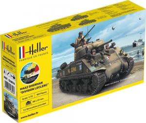 Heller 56894 Starter Set - M4 Sherman Division LeClerc - 1:72