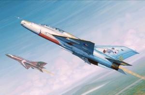 Trumpeter 02865 Mig-21 UM Fighter (polskie malowanie) - 1:48