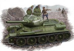 Hobby Boss 84807 Russian T-34/85 (model 1944 flattened turret) Tank - 1:48