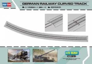 Hobby Boss 82910 German Railway Curved Track - 1:72