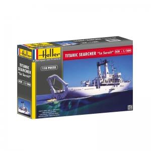 Heller 80615 Statek badawczy Le Suroit - 1:200