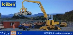 Kibri 11282 H0 Koparka Liebherr 934 z chwytakiem hydraulicznym