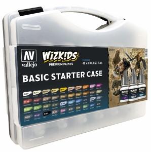 Vallejo 80260 Walizka Wizkids Basic Starter 40 kolorów + pedzel