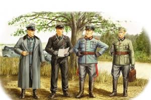 Hobby Boss 84406 Figurki - Niemieccy oficerowie - 1:35