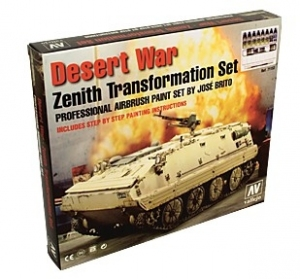 Vallejo 71153 Zestaw Desert War - Zenith Transformation set