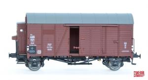 Exact-Train EX20123 Wagon towarowy kryty Oppeln 141154 Kddth z budką hamulcową, PKP, Ep. III