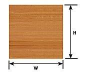 Plastruct 91529 Płyta Styren deski 178x300x0,5 Biała