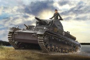 Hobby Boss 80132 German Panzerkampfwagen IV Ausf D / TAUCH - 1:35