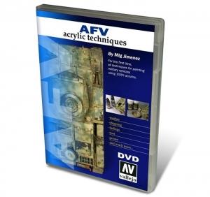 Vallejo 75000 DVD: Vallejo AFV Acrylic Techniques