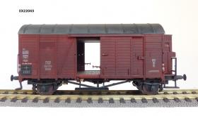 Exact-Train EX22043 Wagon towarowy kryty Oppeln 141154 Kddth z budką hamulcową, PKP, Ep. III (brudzony)