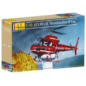 Heller 80485 AS 300 Ecureuil Securite Civile - 1:48