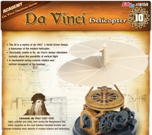 Academy 18159 da Vinci - Helikopter