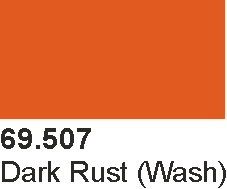 Mecha Color 69507 Dark Rust Wash