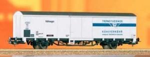 Wagon towarowy kryty Transthermos Ibbhips 379, DB, Ep. IV