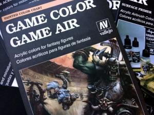 Vallejo CC972 Wzornik kolorów Vallejo Game Color & Game Air