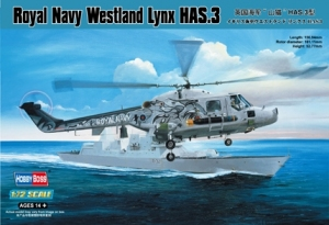 Hobby Boss 87237 Helikopter Royal Navy Westland Lynx HAS.3 - 1:72