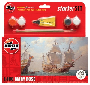 Airfix A55114 Starter Set - Mary Rose 1:400