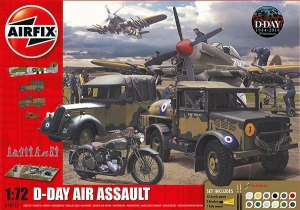 Airfix A50157 Gift Set - D-Day Air Assault 1:72