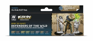 Vallejo 80255 Zestaw Wizkids Premium 8 farb - Defenders of the Wild