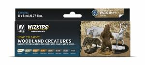 Vallejo 80254 Zestaw Wizkids Premium 8 farb - Woodland creatures