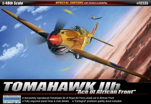 P-40 Tomahawk IIB Ace of African Front, 1:48