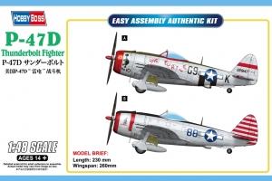 Hobby Boss 85811 P-47D Thunderbolt - 1:48