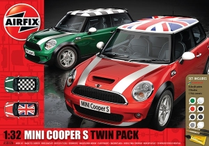 Airfix A50126 Gift Set - Mini Cooper S Twin Pack 1:32