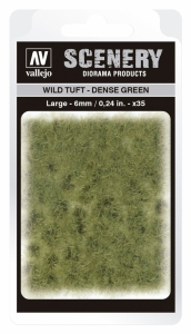 Vallejo SC413 Wild Tuft - Dense Green