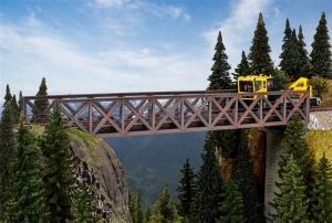 Kibri 39702 Most kolejowy kratownicowy