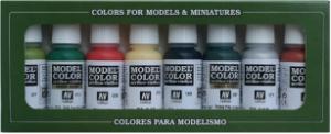 Vallejo 70105 Zestaw Model Color 8 farb - Orcs & Goblins