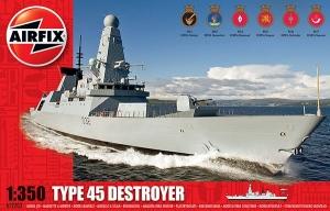 Airfix A12203 HMS Ddaring Type 45 Destroyer 1:350