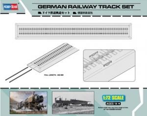 Niemieckie tory kolejowe dł 500 mm - 1:72