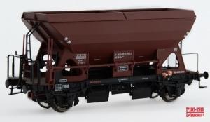 Exact-Train EX20062 Wagon samowyładowczy Otmm 52 z hamulcem hydraulicznym Nr. 21 80 540 0 414-6, DB, Ep. IVa