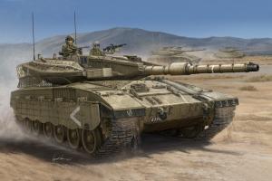 Izraelski czołg Merkava Mk.III.D - 1:35