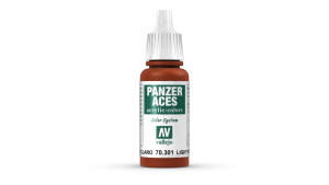 Vallejo 70301 Panzer Aces 70301 Light Rust