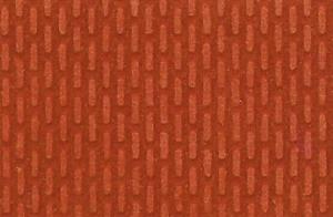 Mur z czerwonej cegły, wnętrze tunelu H0/TT 28x14 cm