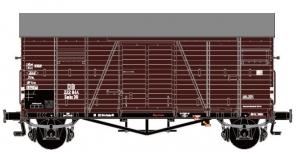 Wagon towarowy kryty Oppeln Gmhs Güterwagen 222844, DB, Ep. III