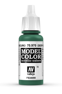 Vallejo 70970 Model Color 70970 72 Deep Green