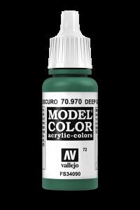 Vallejo 70970 Model Color 70970 72 Deep Green